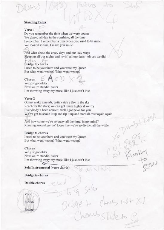 Magic Ship Official Site - MP3s Chords and Lyrics
